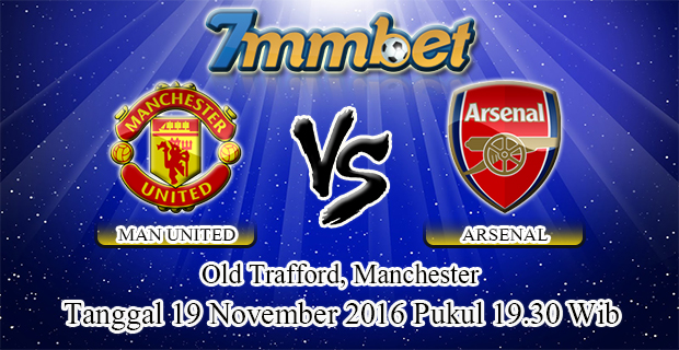 Prediksi Skor Manchester United Vs Arsenal 19 November 2016