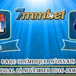 Prediksi Skor Olympique Lyon Vs Paris Saint Germain 28 November 2016