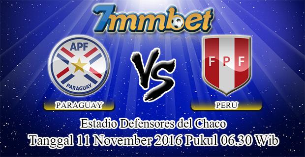 Prediksi Skor Paraguay Vs Peru 11 November 2016
