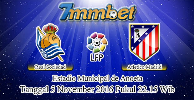 Prediksi Skor Real Sociedad Vs Atletico Madrid 5 November 2016