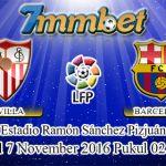 Prediksi Skor Sevilla Vs Barcelona 7 November 2016