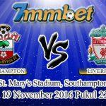 Prediksi Skor Southampton Vs Liverpool 19 November 2016