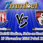 Prediksi Skor Stoke City Vs Bournemouth 19 November 2016