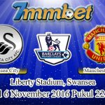 Prediksi Skor Swansea City Vs Manchester United 6 November 2016