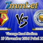 Prediksi Skor Watford Vs Leicester City 19 November 2016