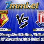 Prediksi Skor Watford Vs Stoke City 27 November 2016