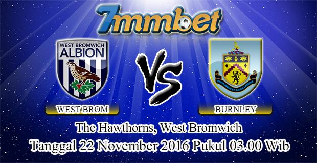 Prediksi Skor West Bromwich Albion Vs Burnley 22 November 2016