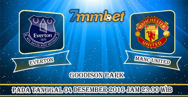 Prediksi Skor Everton Vs Manchester United 04 Desember 2016