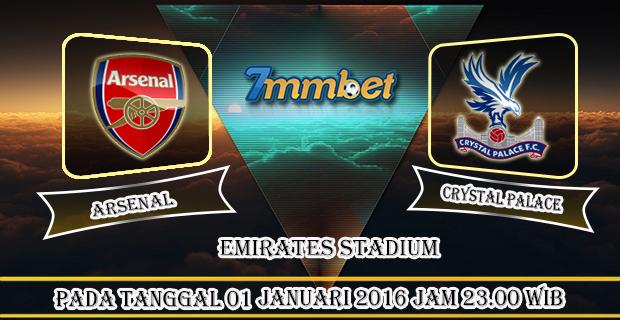 Prediksi Skor Arsenal Vs Crystal Palace 01 Januari 2017