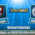 Prediksi Skor Bournemouth VS Leicester City 14 Desember 2016
