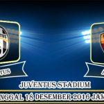 Prediksi Skor Juventus Vs AS Roma 18 Desember 2016