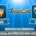Prediksi Skor Valencia Vs Malaga 05 Desember 2016