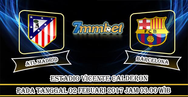 Prediksi Skor Atletico Madrid Vs Barcelona 02 Febuari 2017