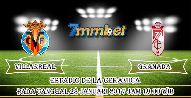 Prediksi Skor Villarreal Vs Granada 28 Januari 2017