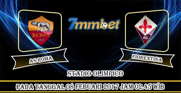 Prediksi Skor As Roma Vs Fiorentina 08 Febuari 2017