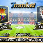 Prediksi Skor Barcelona Vs Athletic Bilbao 04 Febuari 2017