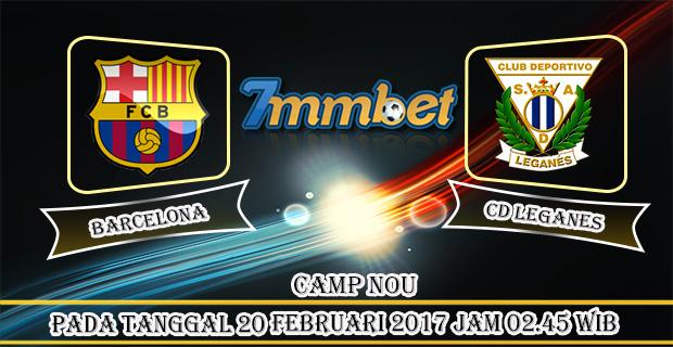 Prediksi Skor Barcelona Vs CD Leganes 20 Februari 2017