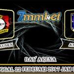 Prediksi Skor Bayer Leverkusen vs Atletico Madrid 22 Februari 2017