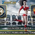 Prediksi Skor Inter Milan vs AS Roma 27 Februari 2017