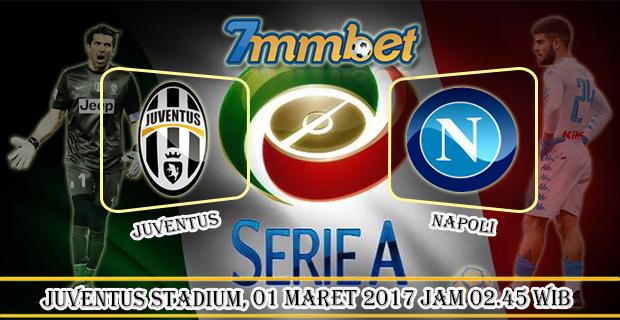 Prediksi Skor Juventus vs Napoli 01 Maret 2017