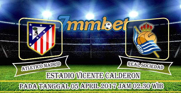 Prediksi Skor Atletico Madrid Vs Real Sociedad 05 April 2017