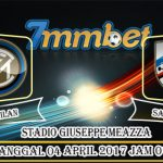 Prediksi Skor Inter Milan Vs Sampdoria 04 April 2017