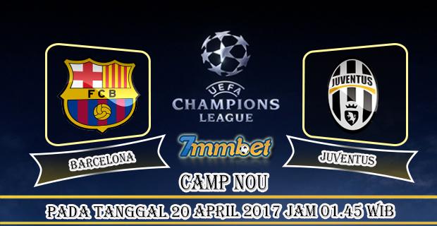 Prediksi Skor Barcelona Vs Juventus 20 April 2017