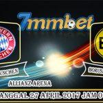 Prediksi Skor Bayern Munchen Vs Borussia Dortmund 27 April 2017