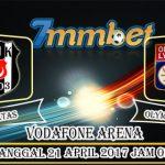 Prediksi Skor Besiktas Vs Olympique Lyon 21 April 2017