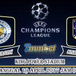 Prediksi Skor Leicester City vs Atletico Madrid 19 April 2017