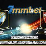 Prediksi Skor Malaga Vs Sevilla 02 Mei 2017