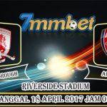 Prediksi Skor Middlesbrough Vs Arsenal 18 April 2017