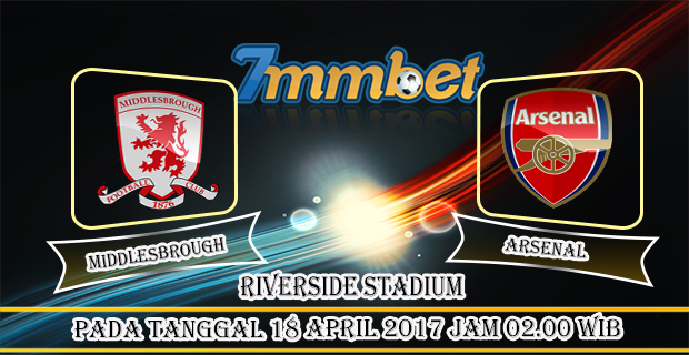 Prediksi Skor Middlesbrough Vs Arsenal 18 April 2017