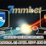 Prediksi Skor Pescara Vs AS Roma 25 April 2017