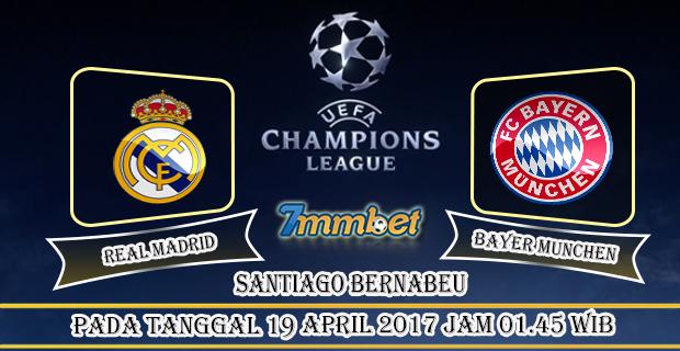 Prediksi Skor Real Madrid Vs Bayer Munchen 19 April 2017
