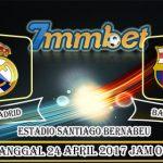 Prediksi Skor Real Madrid vs Barcelona 24 April 2017