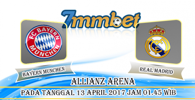 Prediksi Skor Bayer Munchen Vs Real Madrid 13 April 2017