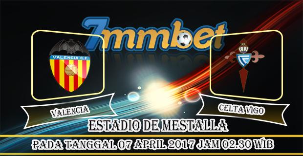 Prediksi Skor Valencia Vs Celta Vigo 07 April 2017