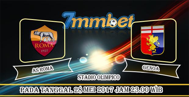 Prediksi Skor AS Roma Vs Genoa 28 Mei 2017