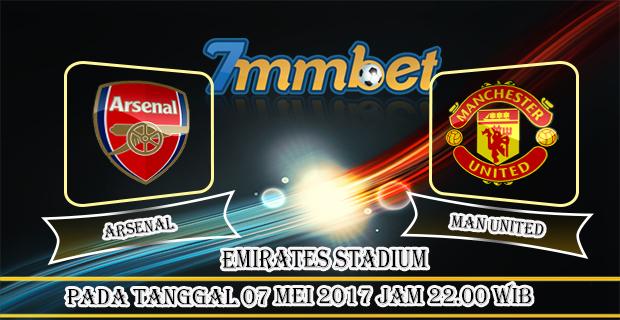 Prediksi Skor Arsenal Vs Manchester United 07 Mei 2017