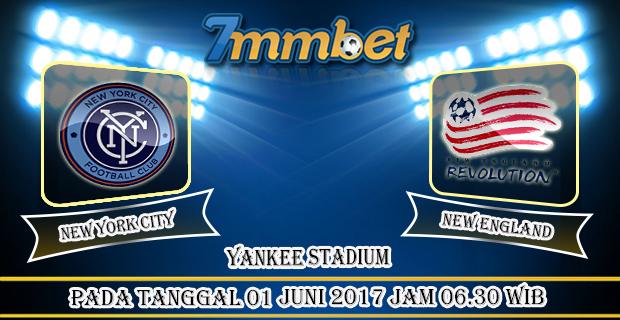 Prediksi Skor New York City Vs New England 01 Juni 2017