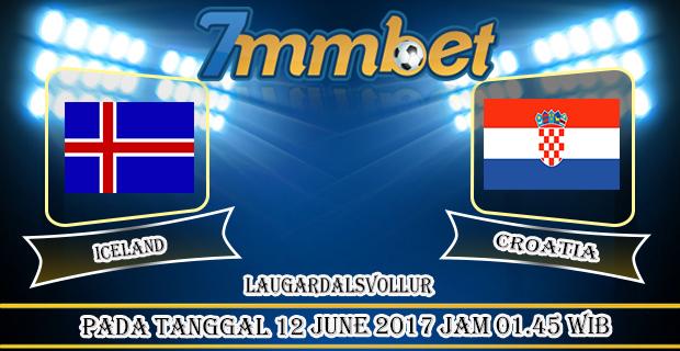 Prediksi Skor Iceland vs Croatia 12 june 2017