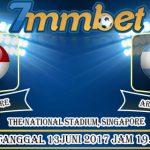 Prediksi Skor Singapore Vs Argentina 13 Juni 2017